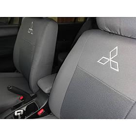 """Чехлы на сидения Mitsubishi Lancer 9 2003-2009 """"Elegant"""" Classic серые"""