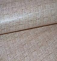 Обои на стену, бумажные, B27,4 Плетёнка 5196-02, 0,53*10м