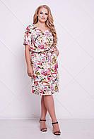 Летнее женское платье большого размера ЛавТМ Таtiana 54-60 размеры