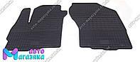 Коврики резиновые для Mitsubishi Outlander XL 2005-2012  Передние (POLYTEP LUX), фото 1
