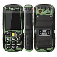 Противоударный водонепроницаемый телефон Land Rover m12 3 sim лэнд ровер М12 на 3 сим-карты