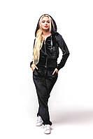 Женский спортивный костюм С-2 Черный, фото 1