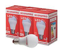 Светодиодные лампы Economka LED 7W СУПЕРПАК 3шт 4200K
