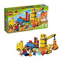 Конструктор Лего LEGO DUPLO Большая строительная площадка 10813