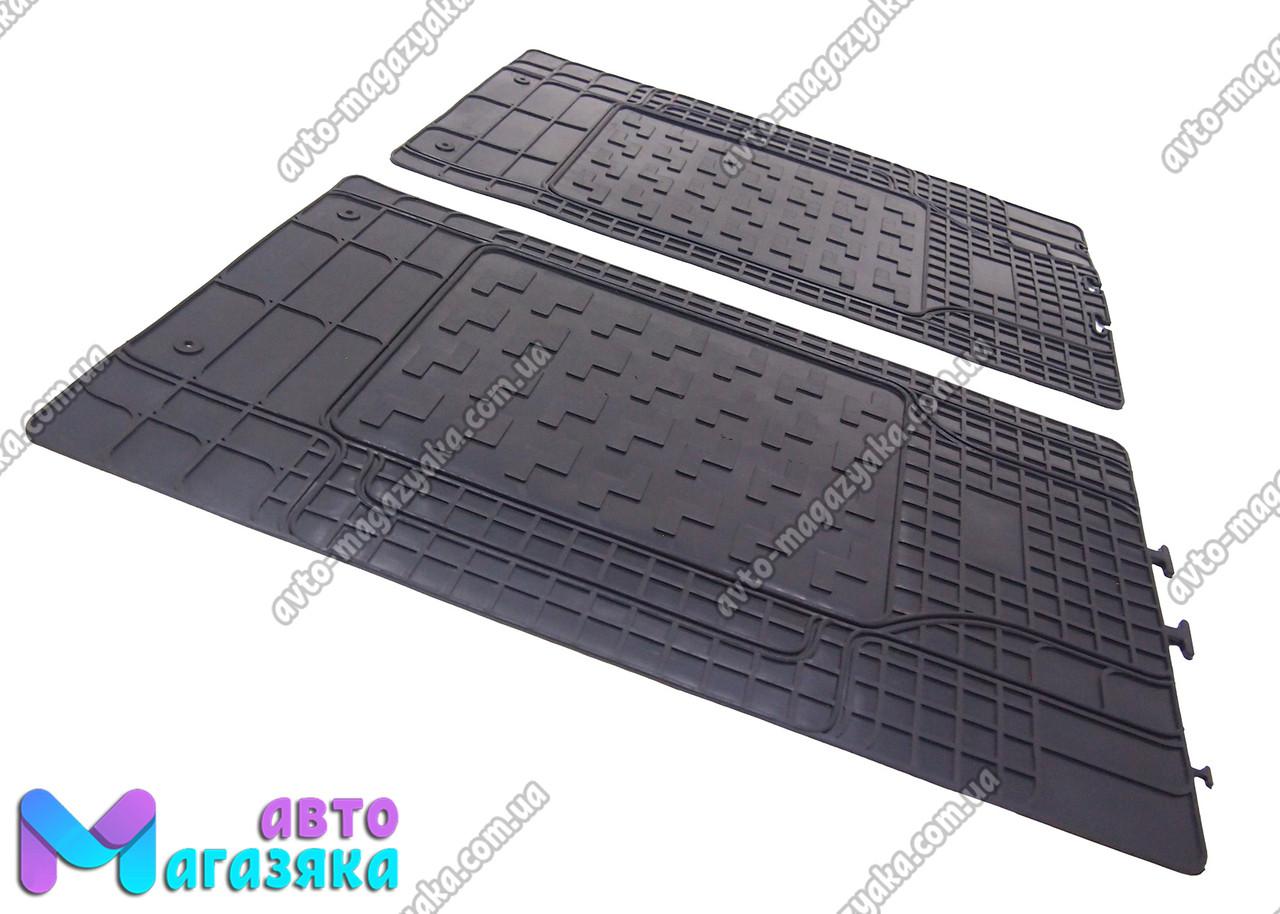 Коврики резиновые Универсальные для 2-й,3-й ряд сидений 1460/430мм (PO
