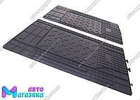 Коврики резиновые Универсальные для 2-й,3-й ряд сидений 1460/430мм (POLYTEP LUX)