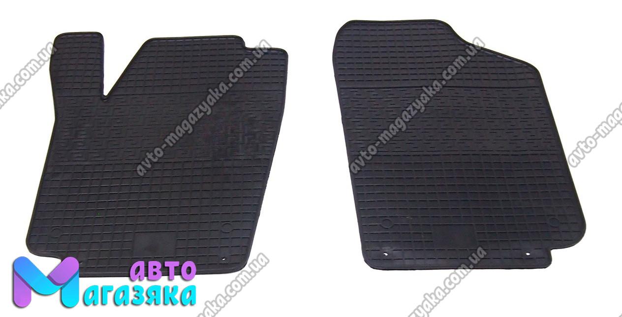 Коврики резиновые для Volkswagen Polo sedan 2010- Передние (POLYTEP CL