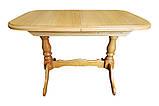 """Дерев'яний обідній стіл """"Прага"""" на двох ногах, фото 6"""