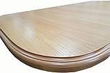 """Дерев'яний обідній стіл """"Прага"""" на двох ногах, фото 8"""