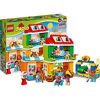 Конструктор лего дупло Lego DUPLO Міська площа 10836, фото 1