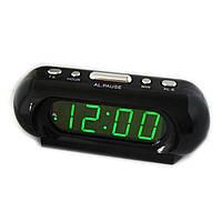 Часы сетевые VST 716 зеленые
