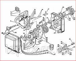 Запасные части к горелке Riello Gulliver RG1R