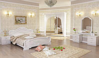 Спальня Футура  3 дв.белый глянец