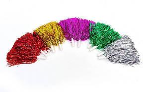 Помпоны болельщика (махалки) для черлидинга и танцев Pom Poms 30 см