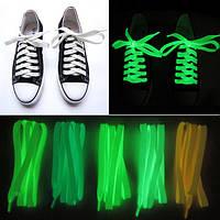 Люминесцентные светящиеся шнурки.