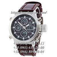 Часы AMST Silver-Black