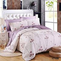 Комплект постельного белья Вилюта ранфорс двуспальный Евро 17109