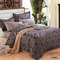 Комплект постельного белья Вилюта ранфорс Platinum двуспальный Евро 17501