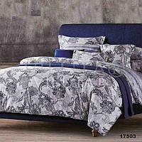Комплект постельного белья Вилюта ранфорс Platinum двуспальный Евро 17503