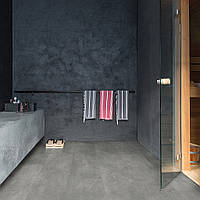 Виниловая плитка Ambient Click БЕТОН, темно-серый