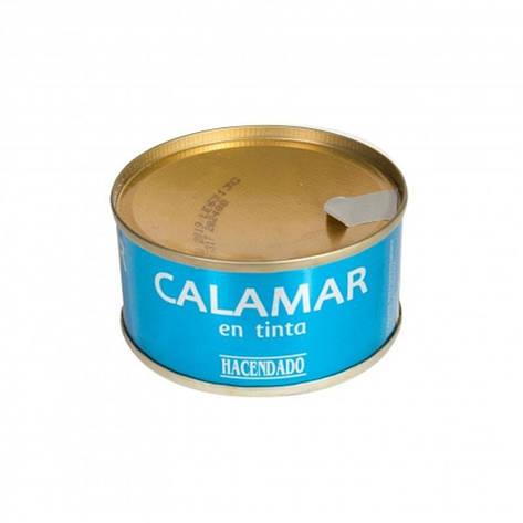 Кальмары Hacendado Calamar En Tinta, 80 г (Испания), фото 2