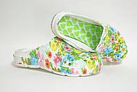 Сабо цветные летние женские Крок, фото 1