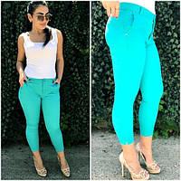 Женские летние джинсовые капри