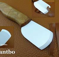 Нож для кожи керамический радиус