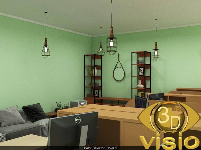 Визуализация в офиса -1