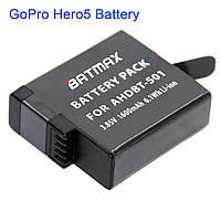 Аккумулятор BATMAX AHDBT-501 для экшн-камеры GoPro Hero 5 (AABAT-001)
