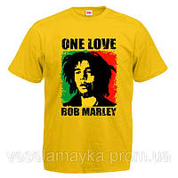 "Футболка ""One love Bob Marley"""