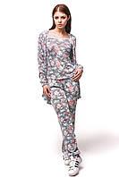 Женский спортивный костюм С-4 Цветы