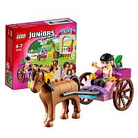Конструктор лего джуниур Lego Juniors 10726 Лошадь и карета Стефани