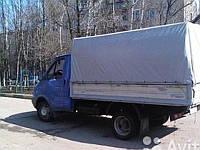 Доставка товаров ,грузоперевозки Газель до 2 тонн ,тент