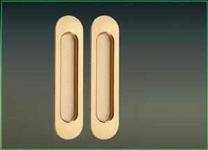 Ручки на систему 2PB/SB полированная/матовая латунь
