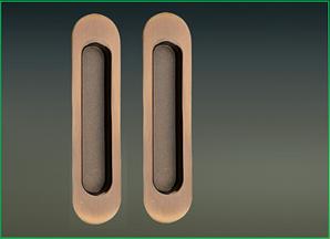 Ручки на систему  2AB полированная бронза