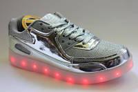 Детские LED кроссовки для девочек 28-32,34р.