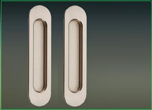 Ручки на систему  2AB матовый никель/хром полированный