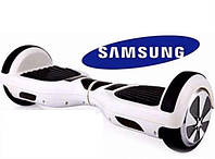 Гироборд 6,5 дюймов белый темно-синий, батарея Samsung, Gyroboard Q 6,5