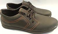 Туфли мужские кожаные р40-45 AMELI 02 черные SEGG