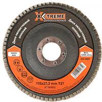 Круг лепестковый плоский X-treme Т27 125х22.2 мм, А36