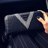 Молодежный модный женский кошелек. Стильный дизайн. Отличное качество. Доступная цена. Дешево. Код: КГ1195