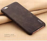Чехол X-LEVEL для iPhone 6 6s Натур. кожа Стильный фирменный