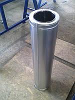 Труба утепленная нерж/цинк  ф200/260 для камина, котла