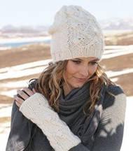 Популярные модели вязаных шапочек