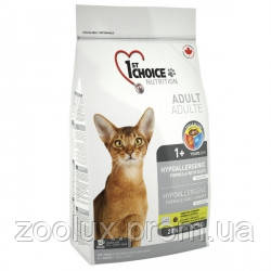 1st Choice Hypoallergenic Adult ФЕСТ ЧОЙС ГИПОАЛЛЕРГЕННЫЙ С УТКОЙ КАРТОШКОЙ корм для котов, 2,72кг