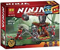 Конструктор Ninja Атака Алой армии 10578