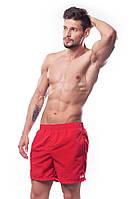 Плавки мужские для купания шорты SHEPA (original) (Польша)  S, Шорты, Красный