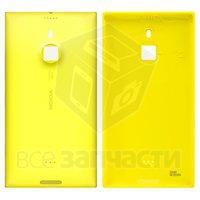 Задняя панель корпуса для мобильного телефона Nokia 1520 Lumia, желтая