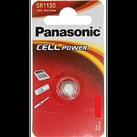 Серебряно-цинковая батарейка panasonic sr-1130 el 1 штука